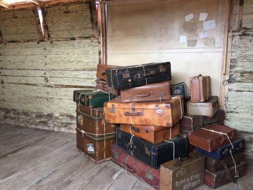 suitcases
